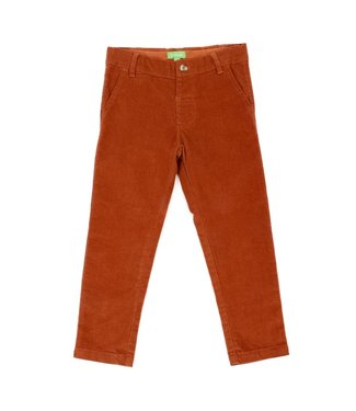 Lily Balou Lily Balou Noah velours broek Biscuit Brown