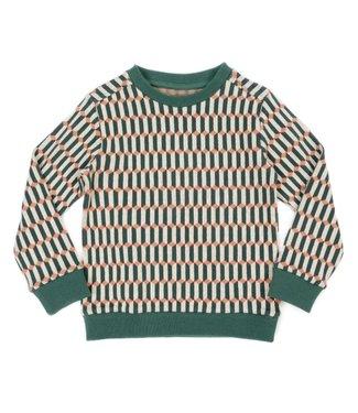 Lily Balou Lily Balou sweater Mika Blocks Green