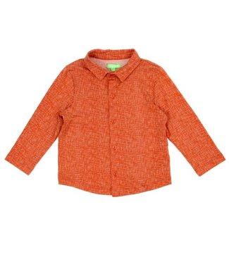 Lily Balou Lily Balou chemise Lucas Texture Rouge