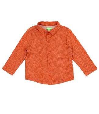 Lily Balou Lily Balou shirt Lucas Texture Red