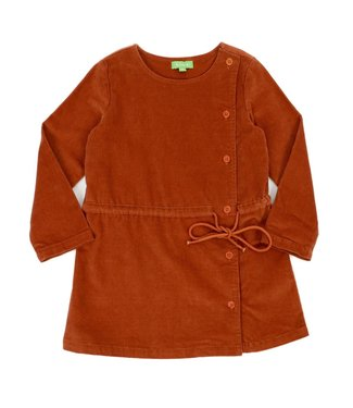 Lily Balou Lily Balou Robe Lucille Biscuit Marron