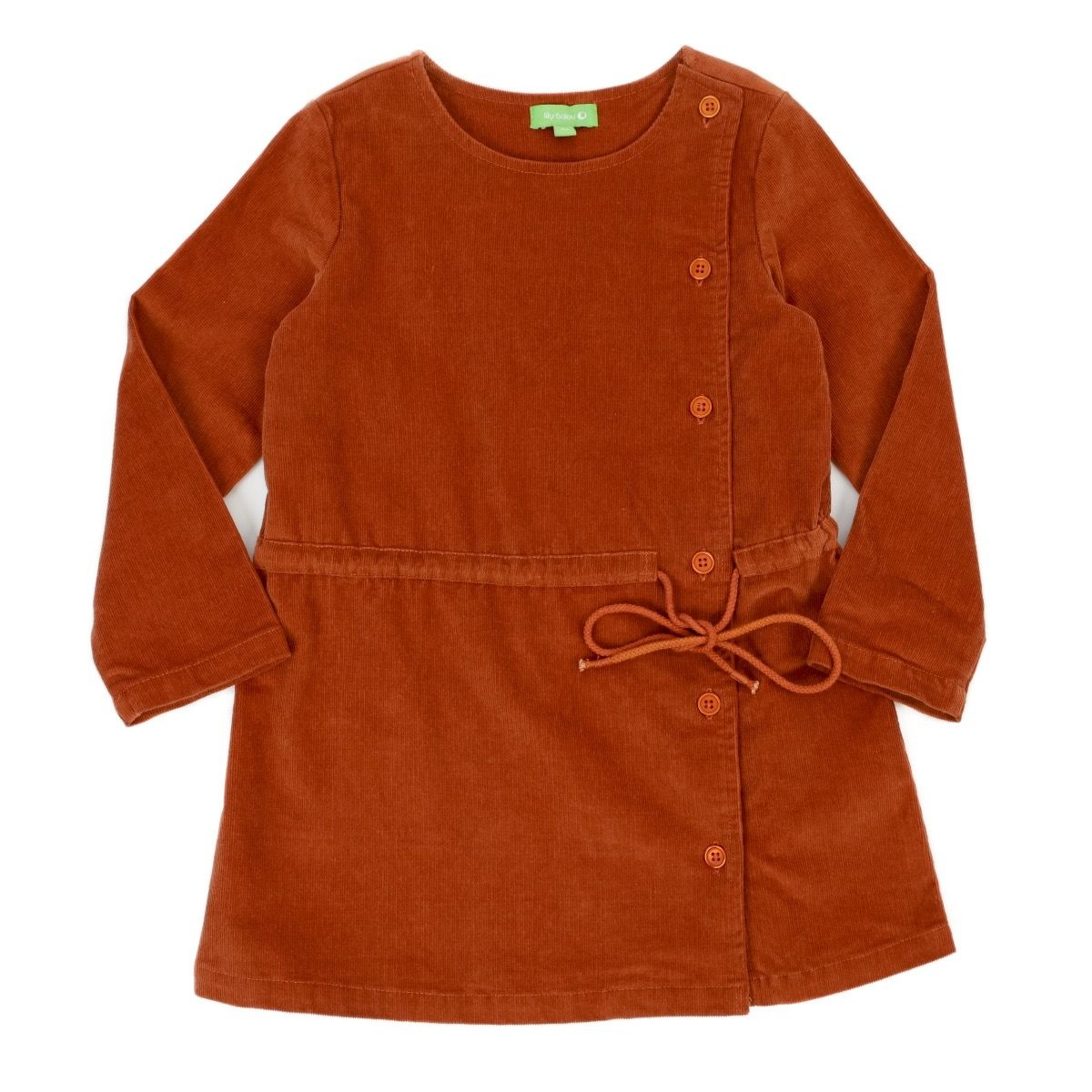 Lily Balou Robe Lucille Biscuit Marron - 104