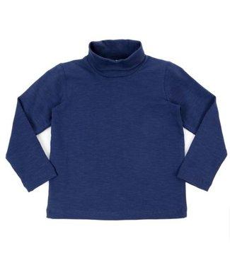 Lily Balou Tee-shirt col roulé Lily Balou Emiel Bleu foncé