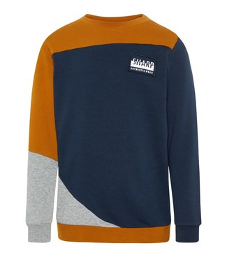 Name-it Name-it jongens sweater NKMOWEN Cathay Spice
