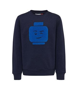 Lego wear Legowear blauwe jongens sweater Siam 782