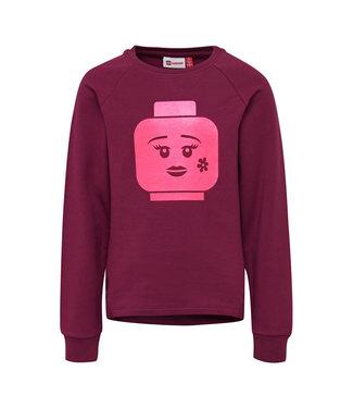 Lego wear Legowear paarse meisjes sweater Simone 757