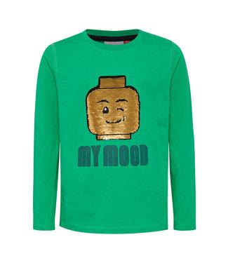 Lego wear Legowear groene jongens tshirt Tiger 759