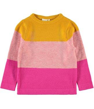 Name-it Name-it girl sweater NMFVULIA Golden Orange