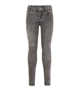 Name-it Name it grijze meisjes jeans POLLY Dnmtora Dark Grey