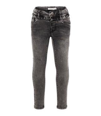 Name-it Name it grijze meisjes jeans NMFPOLLY Dnmtora Dark Grey