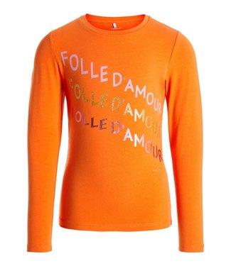 Name-it Name-it girls t-shirt NKFNICLA Mandarin Orange