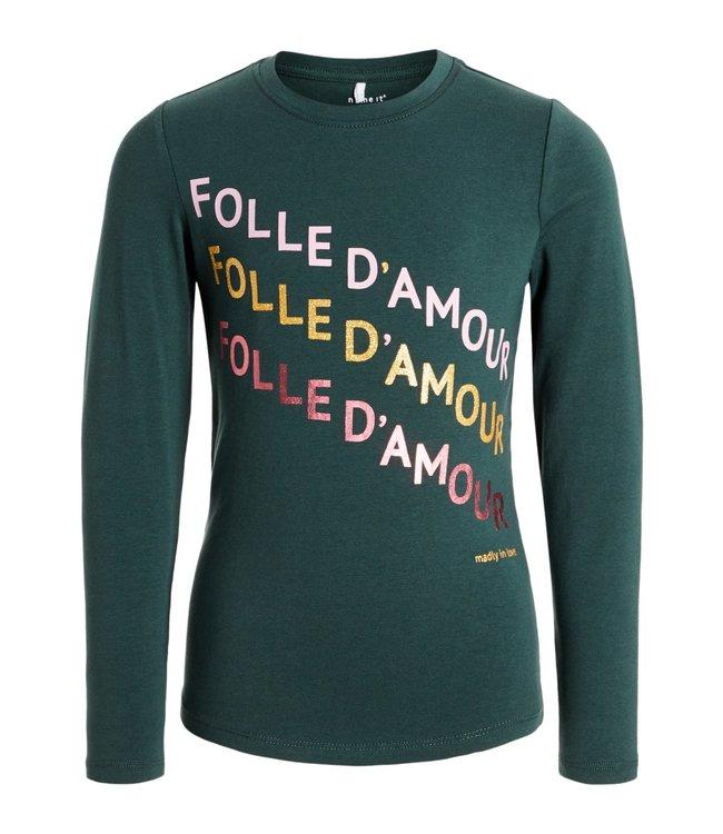 Name-it T-shirt Name-it filles NKFNICLA Green Gables