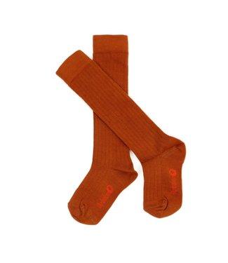 Lily Balou Lily Balou knee socks Jordan Biscuit Brown