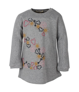 Small rags Small Rags gray girls winter dress