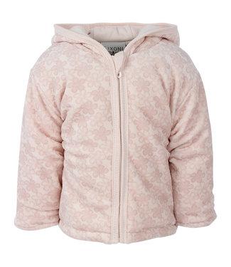 Fixoni Fixoni light rose baby jacket Flower Soft Rose