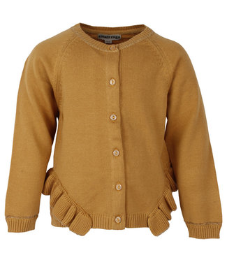 Small rags Small Rags girls cardigan Harvest Gold