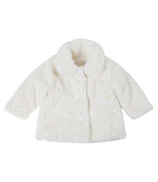 Babybol Babybol girls cloak off white