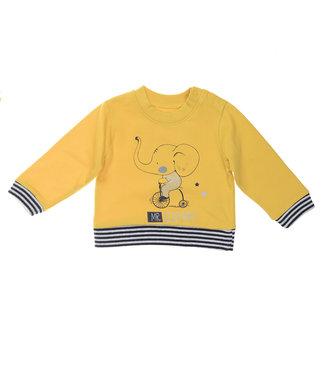 Babybol Pull jaune garçon Babybol M. Éléphant