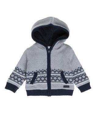 Babybol Babybol jongens jas/vest grey melange