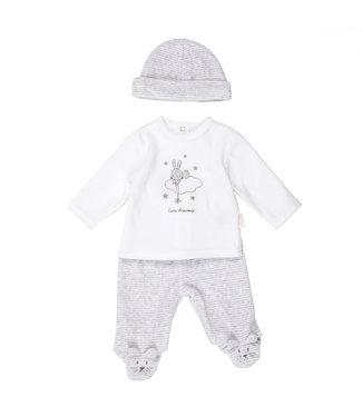 Babybol Pyjama 2 pièces globe bébé + Bonnet Rêves mignons