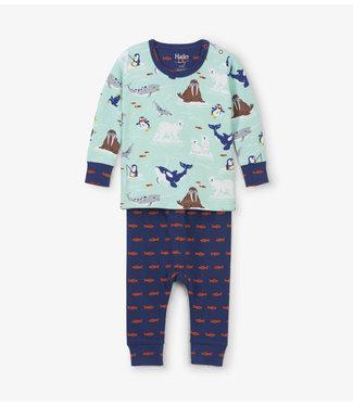 Hatley Hatley boys 2-piece Arctic Friends pajamas