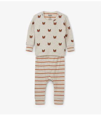 Hatley Hatley boys 2-part pajamas Clever Fox