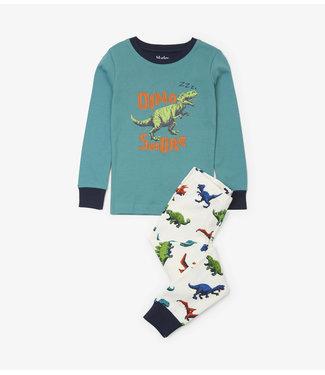 Hatley Hatley jongens 2-delige pyjama Dino Herd