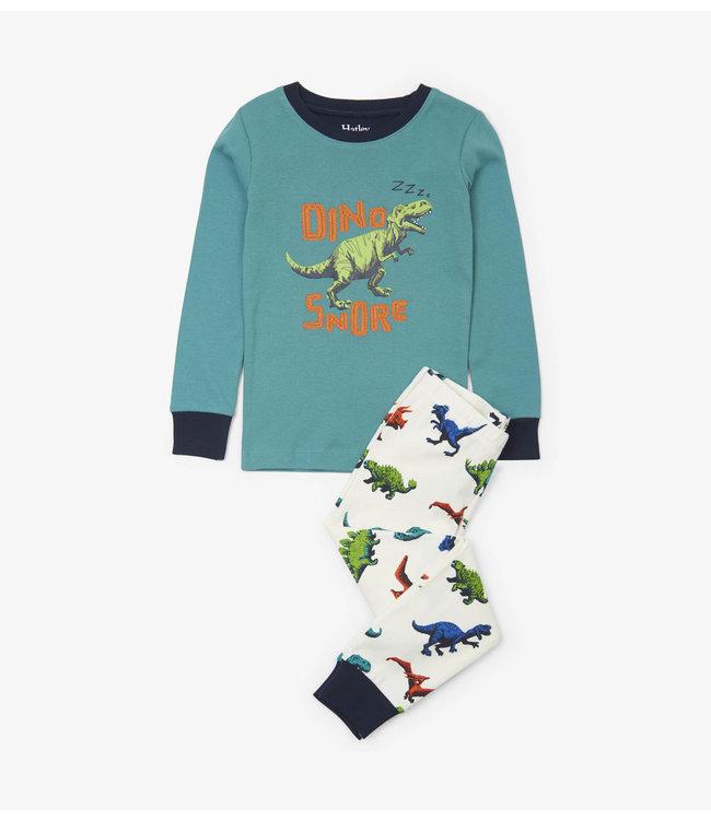 Hatley Pyjama 2 pièces Hatley pour garçons Dino Herd
