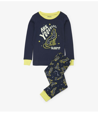 Hatley Hatley jongens 2-delige pyjama Wild Constellations