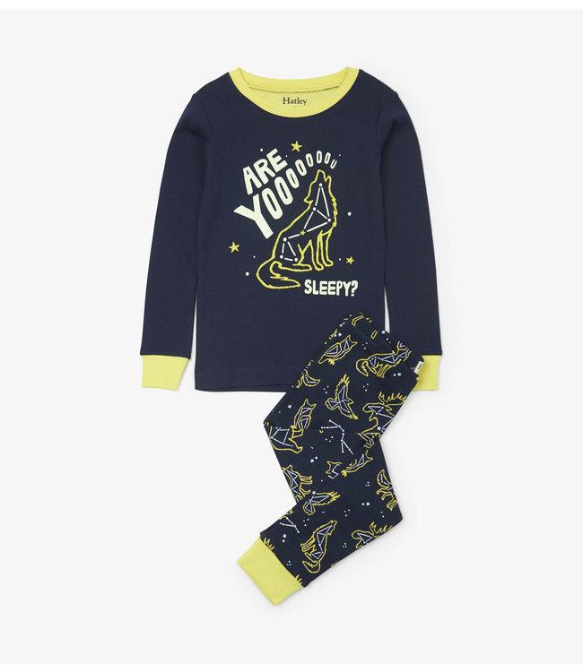Hatley Hatley boys 2-piece pajamas Wild Constellations
