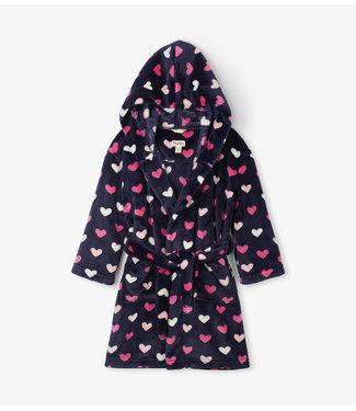 Hatley Hatley meisjes badjas Hearts