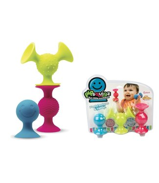 Fat Brain Toys Fat Brain Toys Pip Squigz - Set Of 3