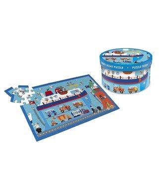 Scratch Scratch Puzzle Ferry de 60 pièces