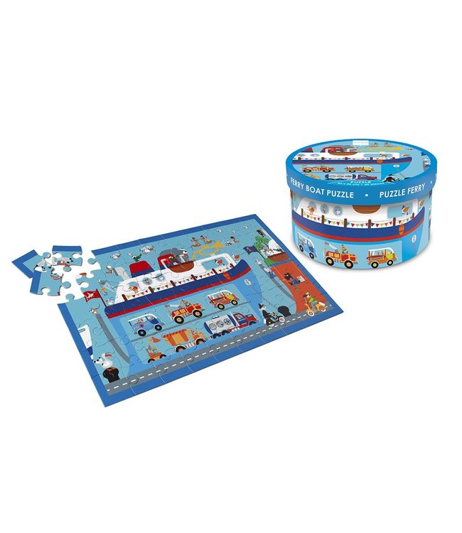 Scratch Scratch Puzzle 60 piece ferry