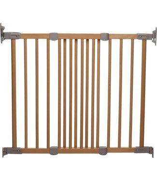 BabyDan Door fence Flexi Fit wood