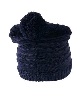 Lego wear Chapeau d'hiver unicolore bleu Alfred 722