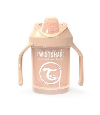 Twistshake Verre à boire TwistShake - Verre à chenilles 300ml Beige Pastel - Copy