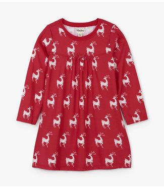 Hatley Hatley roos nachtkleedje hert
