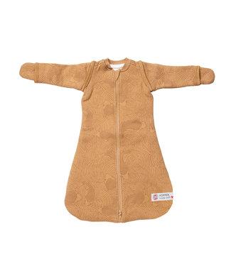 Lodger Lodger Baby sleeping bag Hopper Empire - long sleeve - Yellow ocher