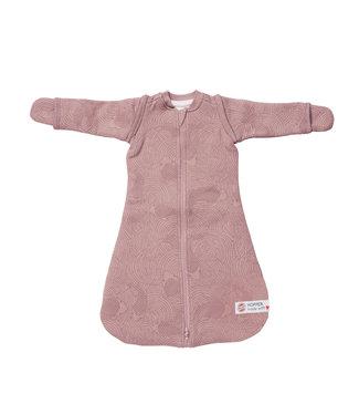 Lodger Lodger Hopper Empire Baby Sleeping Bag - Long Sleeve - Pink
