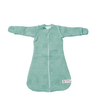 Lodger Lodger Baby sleeping bag Hopper Empire - long sleeve - Silt green