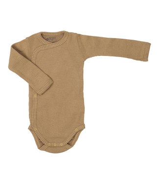Lodger Lodger Romper Ciumbelle - Long sleeve - ocher yellow