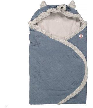 Lodger Couverture Lodger Wrap - Wrapper Botanimal - bleu