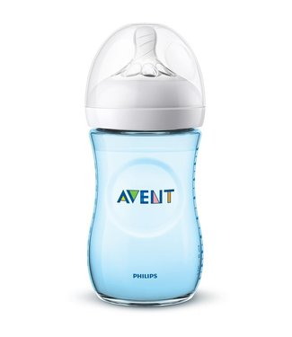 Avent Avent Natural 2.0 zuigfles 260ml Blauw