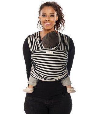 Babylonia Babylonia draagdoek Tricot-slen design Black & white stripes