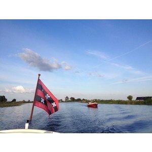 Vlag met wapen van Ouder-Amstel