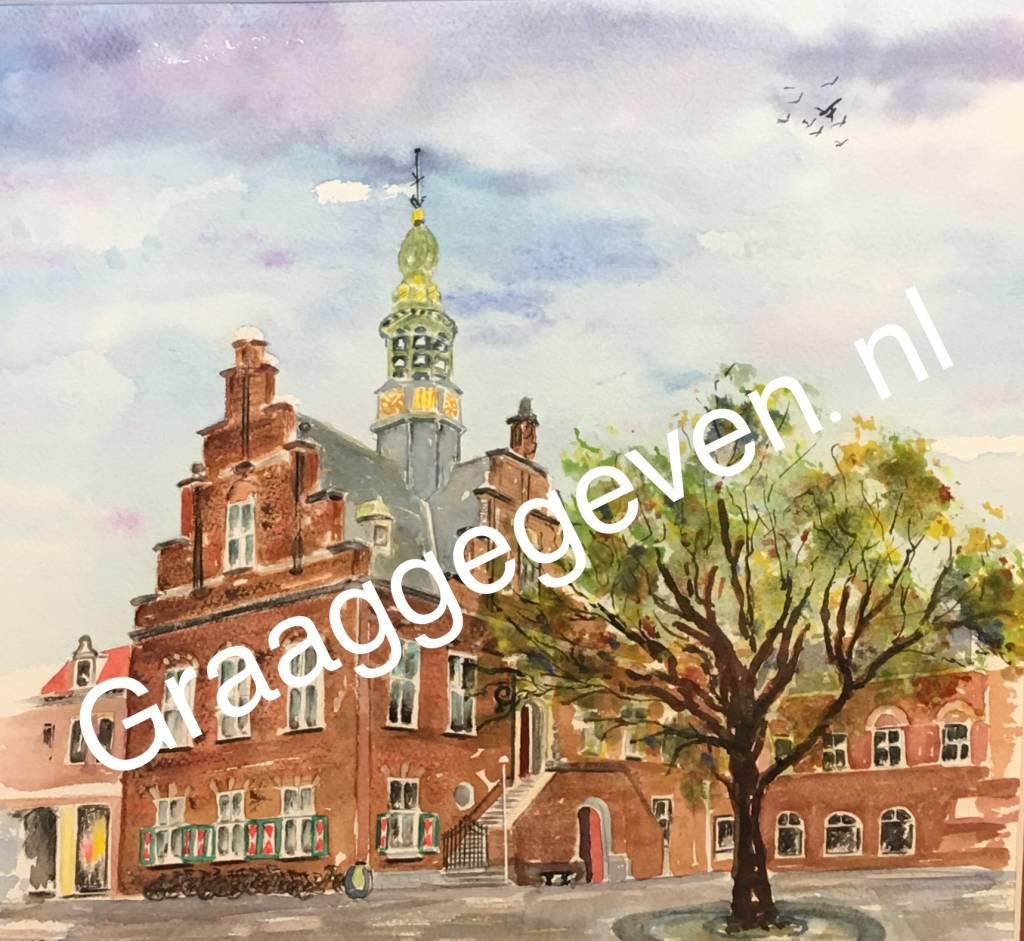 Nieuwe aquarel van Wijnand Slokker voor Graaggegeven.nl - Prijsvraag