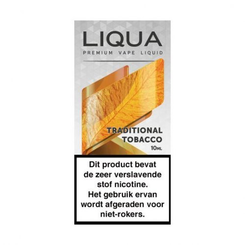 liqua elements liqua traditional tobacco