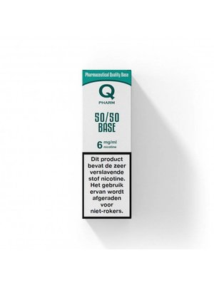 Qpharm base 50/50 PG/VG
