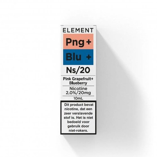 Element nic salts pink grapefruit blueberry